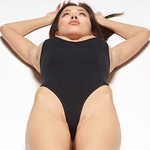 Nicolette Tiny Black Swimsuit
