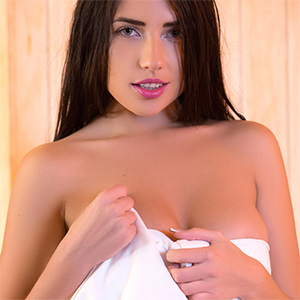 Niemira Takes A Steamy Shower for Playboy