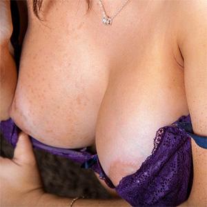 Olivia Wade Purple Lingerie