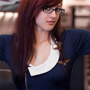 Peatrie Sexy Stewardess