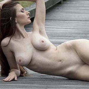 Penni Road Block Nude Muse