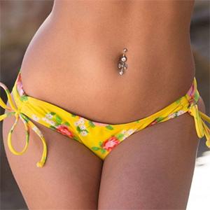 Rahyndee James String Bikini Babe