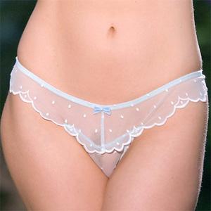 Rebecca Matheson Sheer Panties