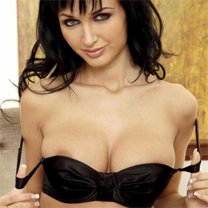 Roxanna Milan Black Lingerie