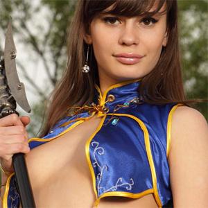 Salma Sexy Cosplay Goddess