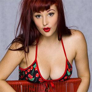 Scarlett Morgan Cherry Dress Nudes