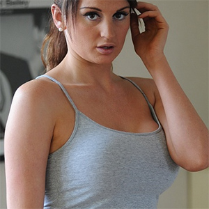 Shannon Is Busting Out Of Her Tank Top