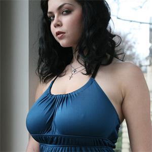 Shione Cooper Blue Dress