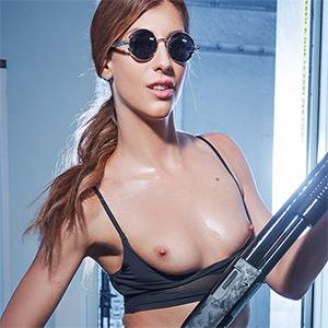 Shona River Terminator VR Cosplay X