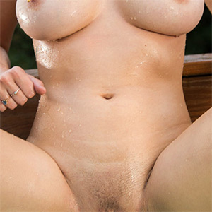 Skye Blue Naked In The Hot Tub