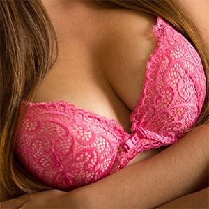 Skye West Pink Lingerie Desire