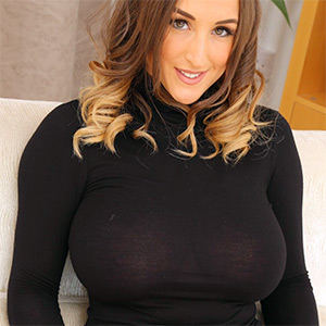 Stacey Poole Looks Busty In All Black