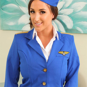 Stacey Poole Busty Stewardess Only Tease