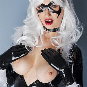 Stella Cardo Black Cat VR Cosplay X