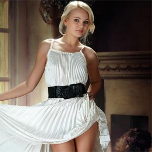 Talia Frilly Dress