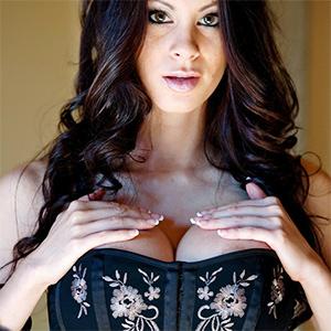 Talia Shepard Big Corset Boobs