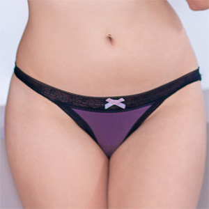 Tania Funes Purple Panties