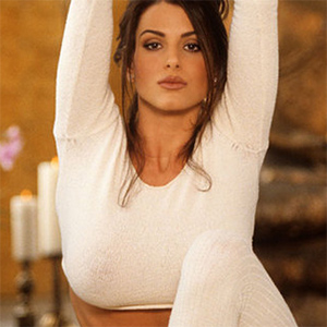 Tishara Lee Cousino Playmate Does Yoga