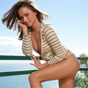 Tori Black Balcony
