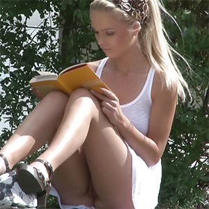 Reading Upskirt Frivolous Dress Order