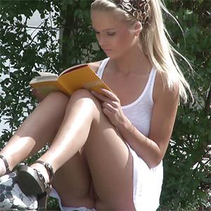 Reading Upskirt Frivolous Dress Order