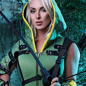 Victoria Summers Green Arrow XXX Cosplay pics