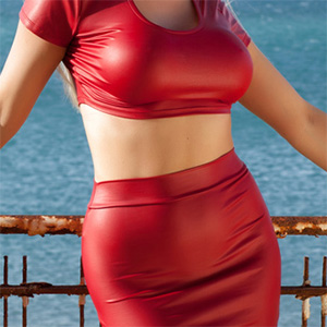 Yasmin Perky Breasts Red Alert
