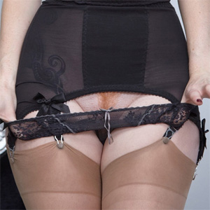 Zara Du Rose Sultry Stockings