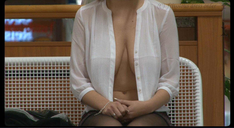 Upskirt And See Thru Frivolous Dress Order-6659