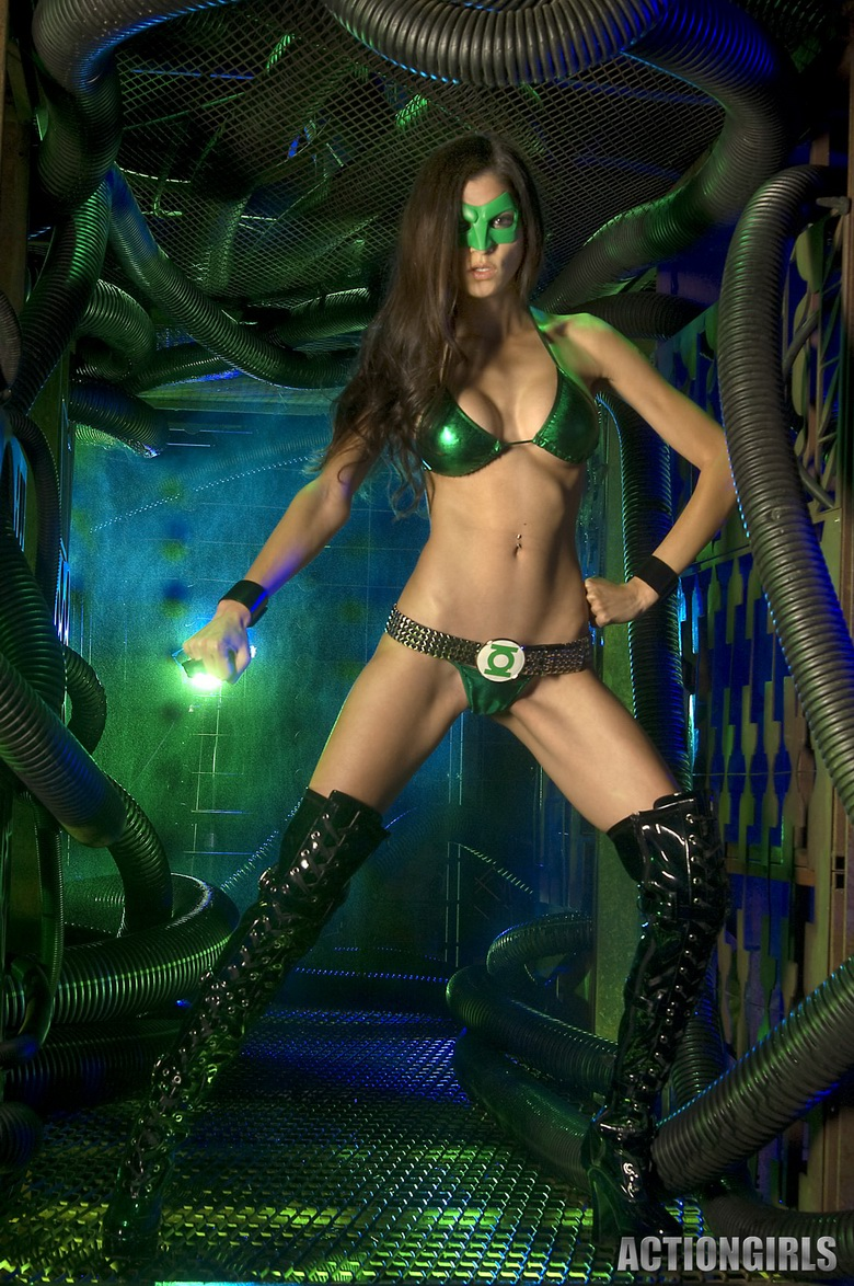 from Kingsley green lantern naked girl